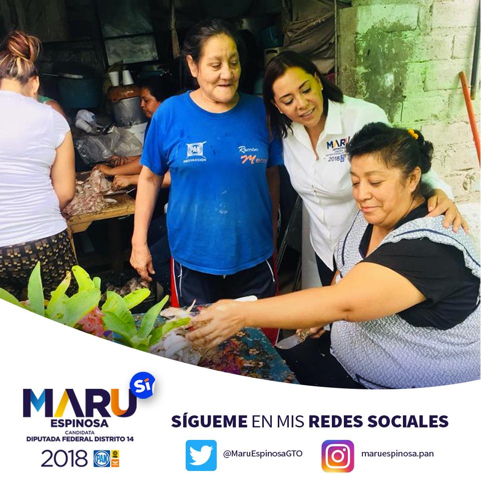 Promoción redes sociales Diputada Maru Espinosa